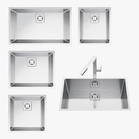 3d barazza taps sinks model