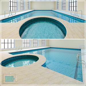 3d Swimmingpool Models Turbosquid