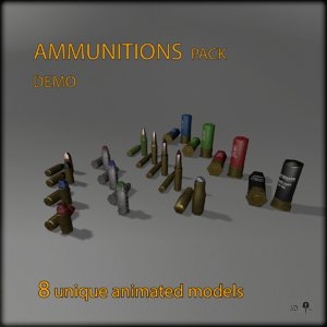 pack ammo fbx free