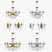 chandelier stregaro osgona 3d model