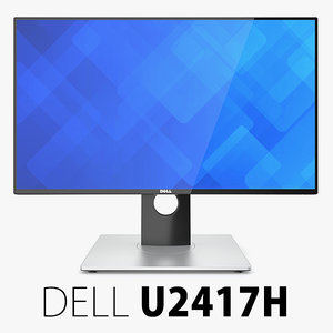 3d dell ultrasharp monitor model