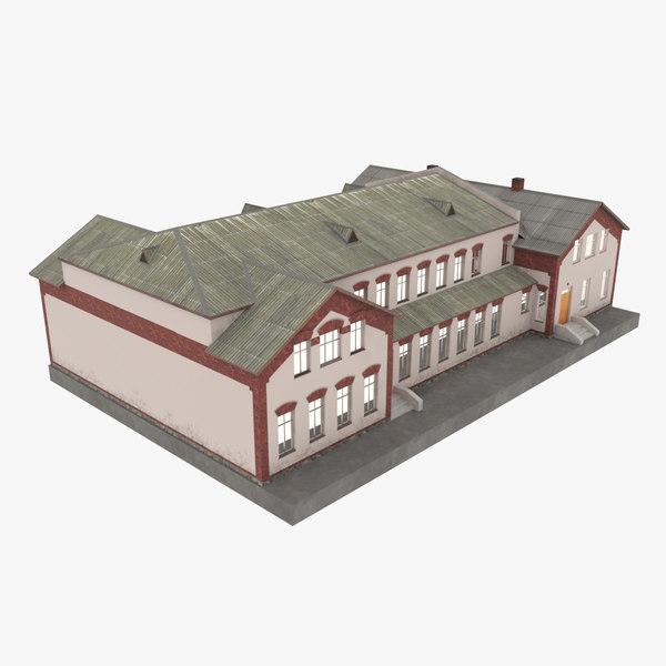old school 3d model