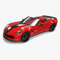 corvette stingray 2017 3ds