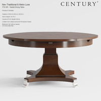 century furniture new traditional 3d obj