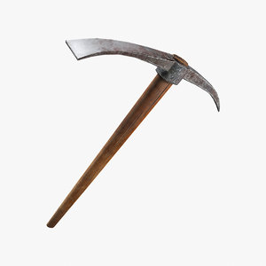 pickaxe pick axe 3d max
