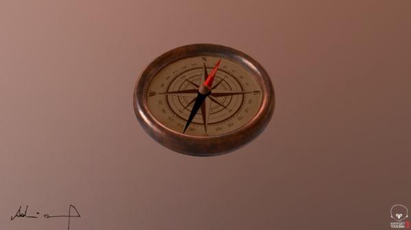 compass obj free