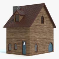 max stylized fantasy house