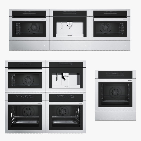 barazza microwave oven 3d model