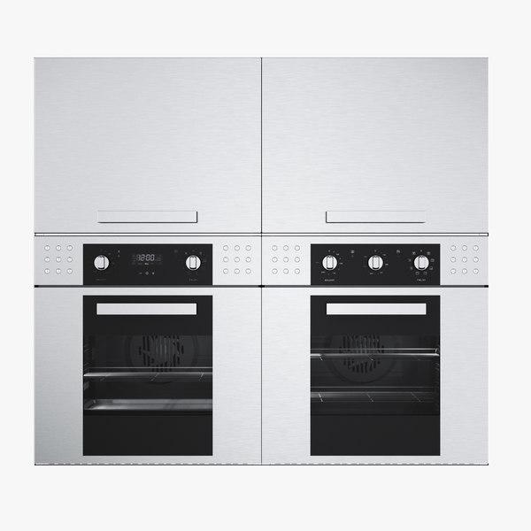 barazza microwave oven 3d max