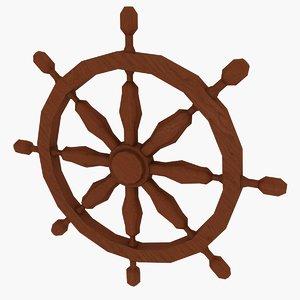 obj marine wheel