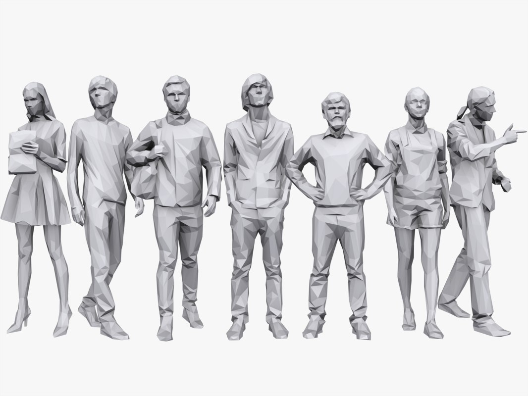 3d people pack casual