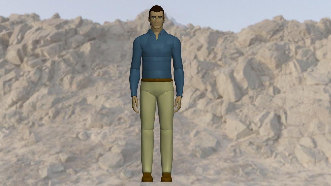mannequin man 3d ige