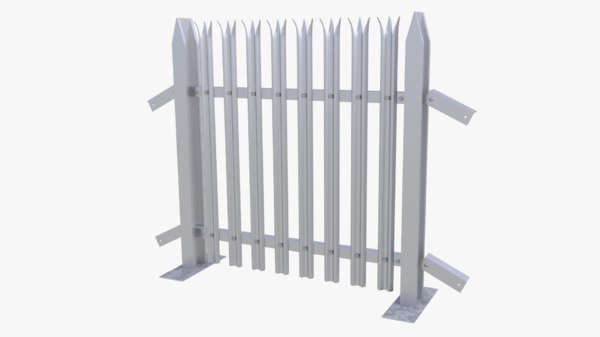 3d collapsible fence