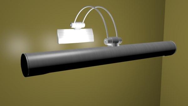 picture lamp 3d blend
