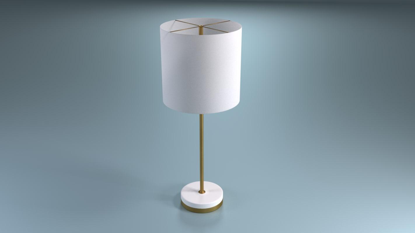 lamp blender 3d 3ds