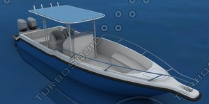 speed boat 35ft 3d 3ds