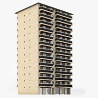 use building 3d model