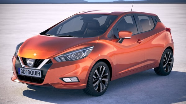 nissan micra 2017 3ds