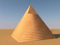pyramids giza c4d