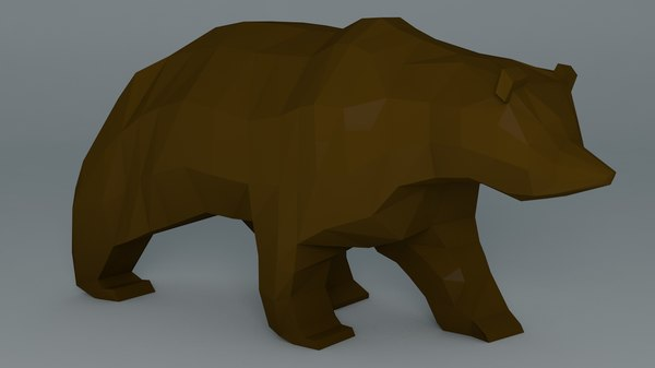 3ds grizzly bear cartoon
