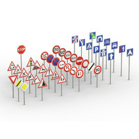 Traffic Signs pack
