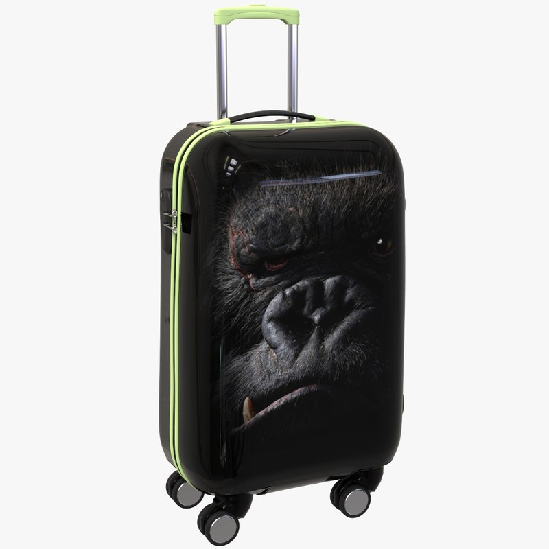 3d model bag king kong
