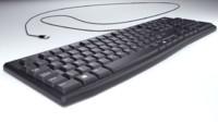 computer usb keyboard obj