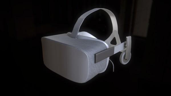 oculus rift cv1 headset max