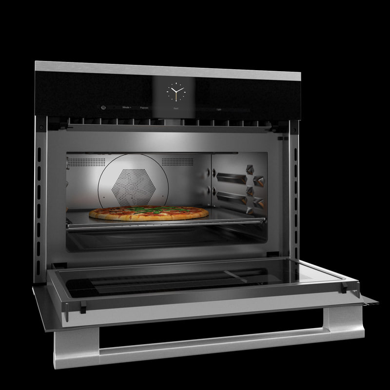 miele microwave oven pizza 3d max