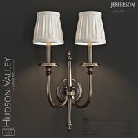 hudson valley jefferson wall lamp 3d max