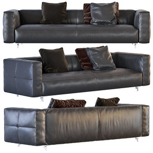 3d model sofa cortina