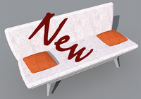 new armchair 3ds