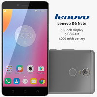 lenovo k6 note 3ds