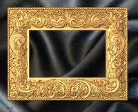 frame mirror decoration 3ds