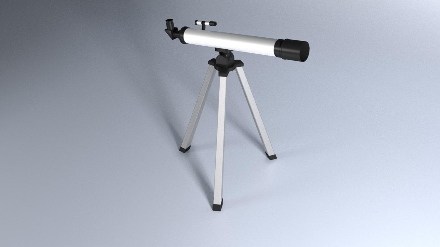 3ds telescope blender
