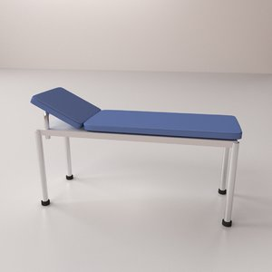 3d model examination table