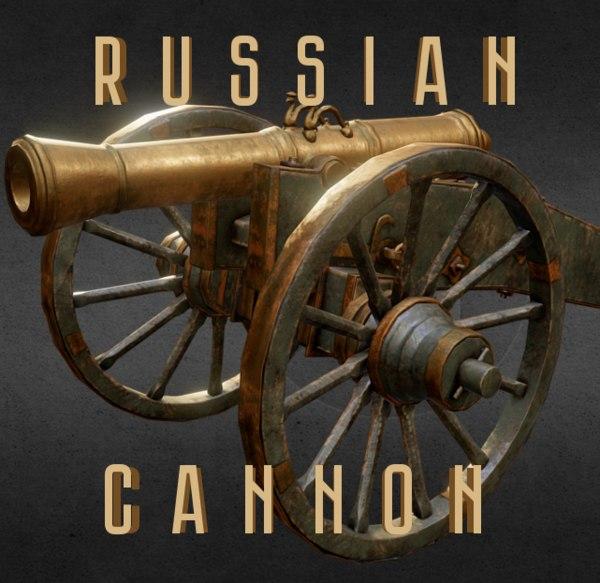 3d model 6 russian 1812