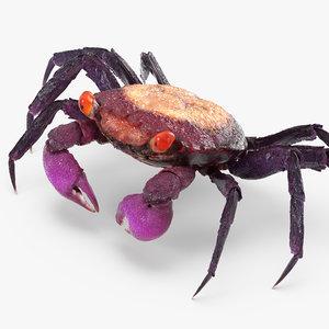 vampire crab geosesarma 3d model