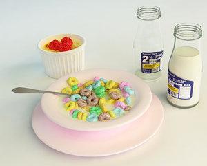 3d model 57 cereals