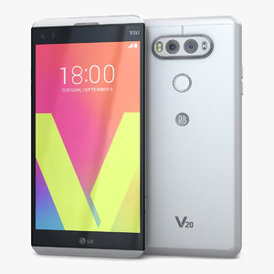 lg v20 silver 3ds