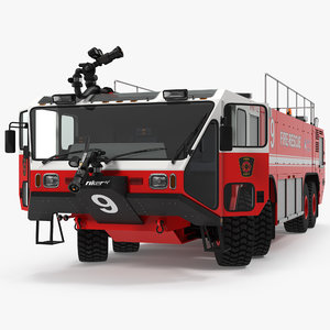 oshkosh striker 4500 airport 3d model