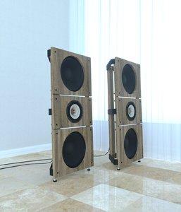 pure project trio 3d model