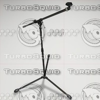 Microphone Stand with animated parts
