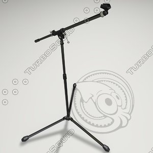 3d microphone stand