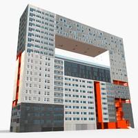 3d model building mirador