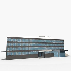 embassy united states oslo 3d max