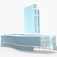 3d model of palazzo lombardia