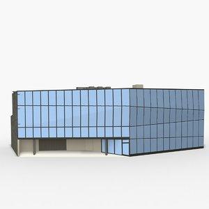 3d model anvil building
