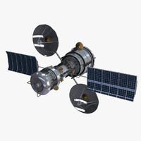 satellite 3d max