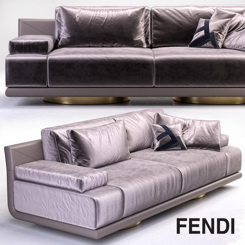 Fendi Artu 3 Seater Sofa